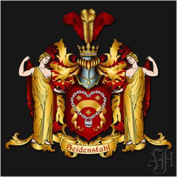 Wappen Seidenstahl