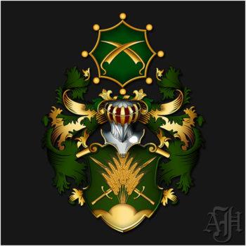 Wappen der Familie Brahm
