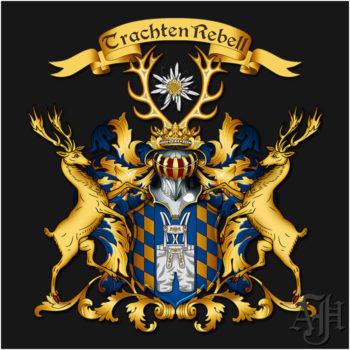 Das Wappen des Unternehmens Trachtenrebell