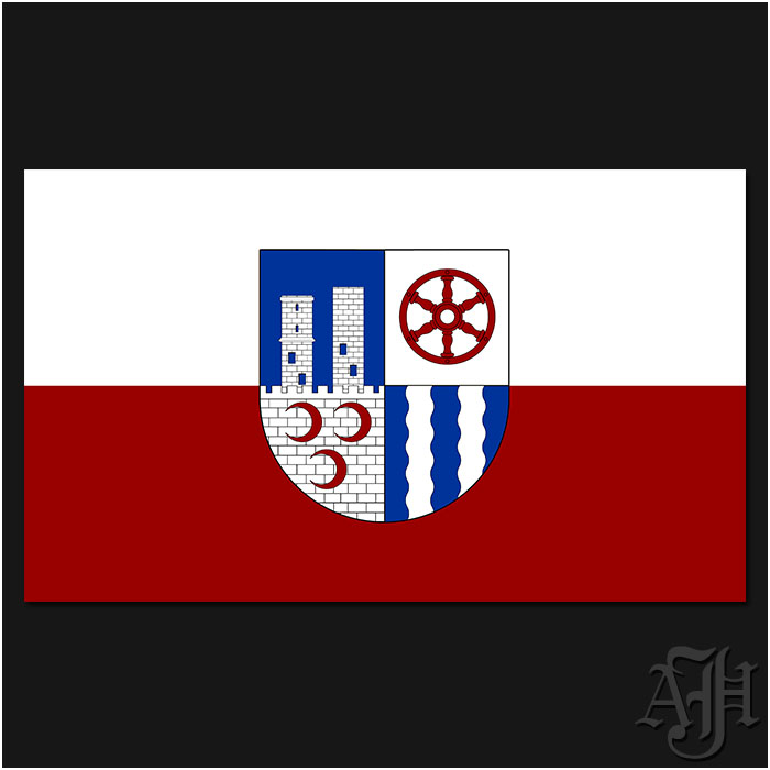Fahne-Flagge der Gemeinde Bornhagen