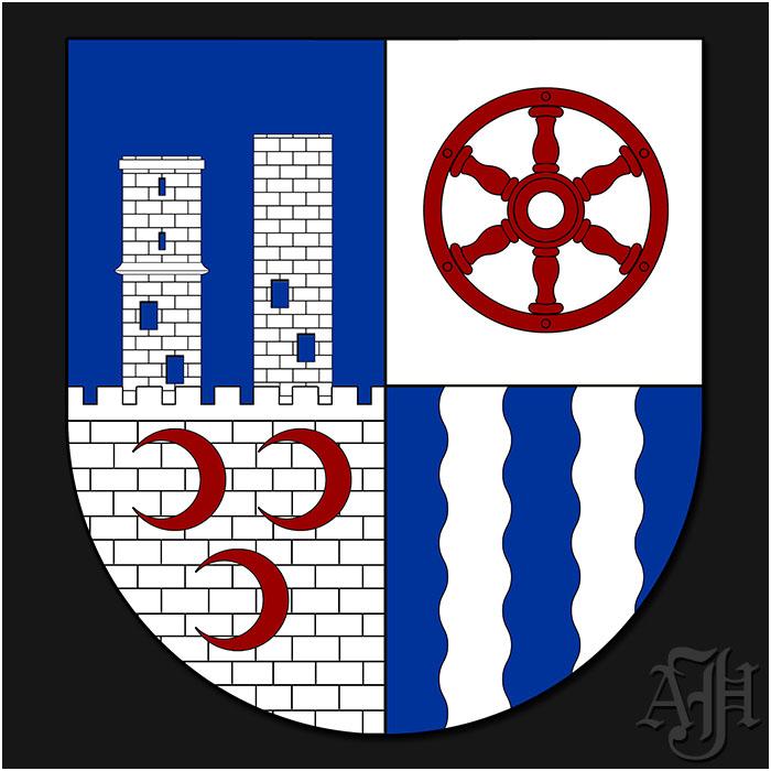 Wappen Bornhagen mit Rimbach