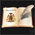 Historische Wappenbücher und Schriften