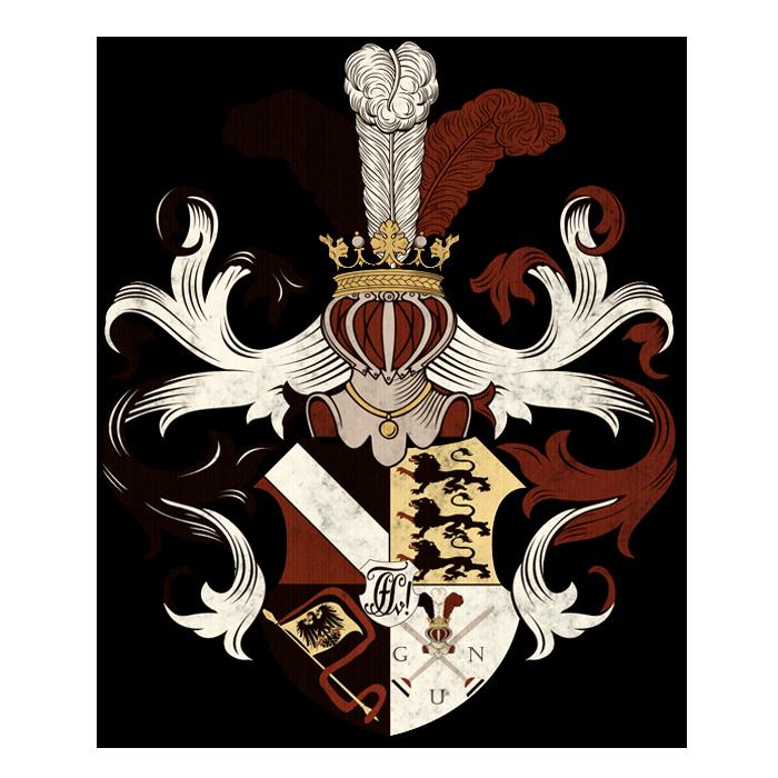 Verbindungswappen_Corps_Suevia_Tuebingen_alt