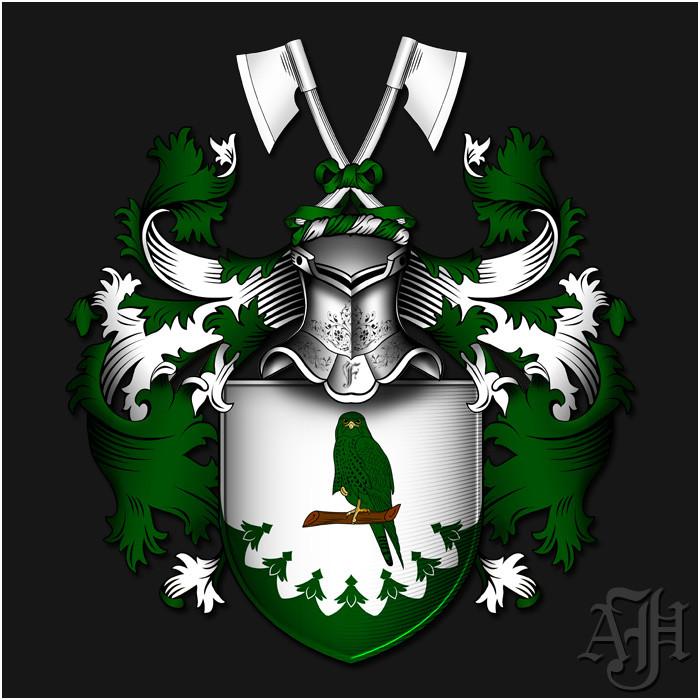 Familienwappen Falkenthal