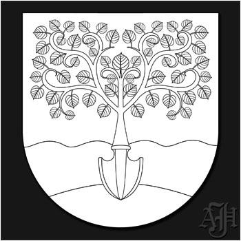 Wappen Konturzeichnung
