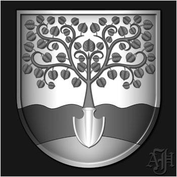 Wappen Graustufen